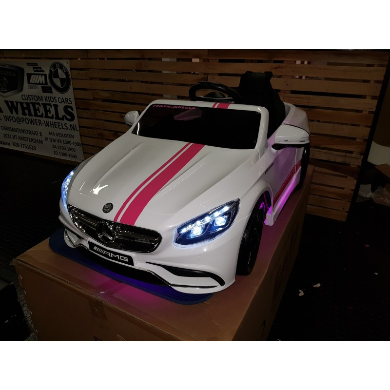 CUSTOM MADE S63 AMG ELEKTRISCHE KINDERAUTO 12V 2.4G