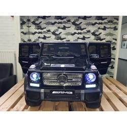 Mercedes Benz G65 12v 2.4G metallic zwart elektrische kinderauto