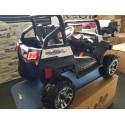 Elektrische kinderjeep V Twin 4WD 2 persoons wit