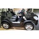 Mini Cooper Beachcomber elektrische kinderauto 2.4G 12v metallic zwart