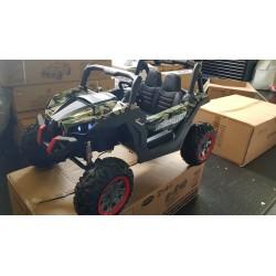 Elektrische kinder buggy Camouflage 4x4