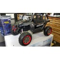 Kinder buggy Carbon 4 wheel drive 2x12 volt 2.4G RC