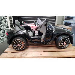 BENTLEY EXP12 ELEKTRISCHE KINDERAUTO 12v 2.4G METALLIC ZWART