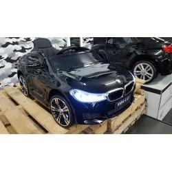 ELEKTRISCHE KINDERAUTO BMW 640i GT Xdrive METALLIC ZWART 12V 2.4G
