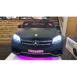 CUSTOM MADE GLS63 AMG ELEKTRISCHE KINDERAUTO LED ROZE 12V 2.4G