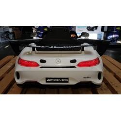 MERCEDES AMG GT4 ELEKTRISCHE KINDERAUTO WIT 12V 2.4G