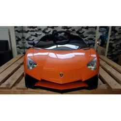 ELKETRISCHE KINDERAUTO Lamborghini Roadster SV 12 VOLT 2.4G ORANJE