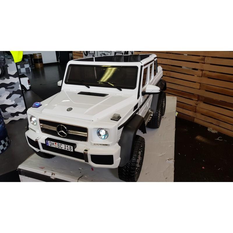 MERCEDES AMG G63 6×6 4WD MP4 12V 2.4G WIT 1P