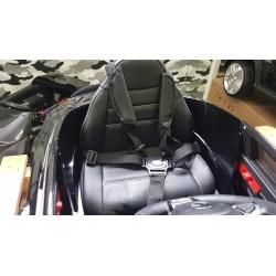 MERCEDES C63 S COUPE AMG 12V 2.4G METALLIC ZWART