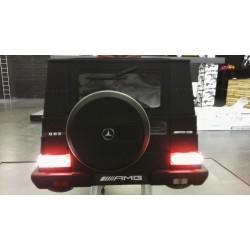 custom G63 AMG MET LED ACHTERVERLICHTING