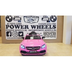 MERCEDES C63 S COUPE AMG 2.4G RC 12V ROZE