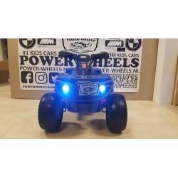 Elektrische kinder accu quad Bigfoot 12 volt blauw