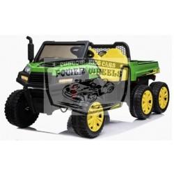 GATOR KINDERJEEP FARMER TRUCK 6×6 12VOLT 4WD 2 PERSOONS