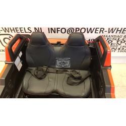POWER BUGGY 24 VOLT 4 WHEEL DRIVE MET RC  2 PERSOONS