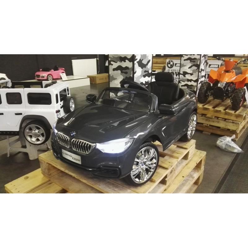 BMW 4 serie kinderauto grijs 12