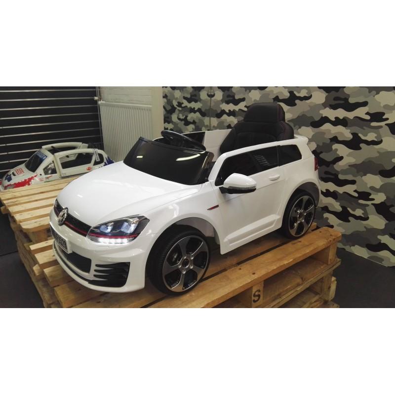 volkswagen gti elektrische kinder auto 12v met 2 4g. Black Bedroom Furniture Sets. Home Design Ideas