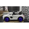Mercedes Benz SLS wit 12 volt 2.4G RC MP4 TV