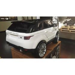 Range Rover 2 persoons elektrische kinderauto wit Feber