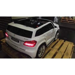 Mercedes GLS63 AMG 2 persoons wit