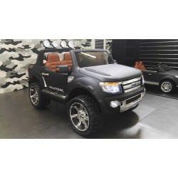 Ford Ranger XLS kinderauto  2.4G RC soft start 12V MATZWART