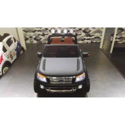 Ford Ranger XLS kinderauto  2.4G RC soft start 12V MATZWART