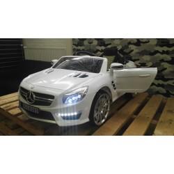 Mercedes SL63 AMG kinderauto 12V 2.4G WIT