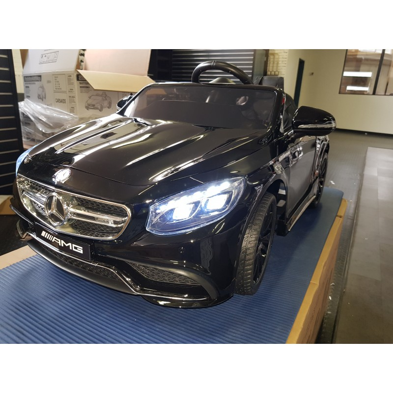 Mercedes Benz S63 AMG 12v 2.4g metallic zwart