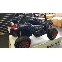 Kinder buggy Carbon 4 wheel drive 2x12 volt 2.4G RC