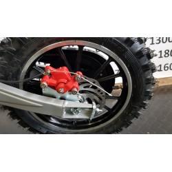 Elektrische crossmotor 36 volt lithium-ion accu 500 Watt roze