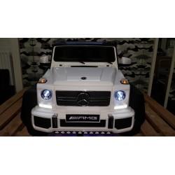 Mercedes AMG G63 met 6 wielen 4wd 12v 2.4g wit