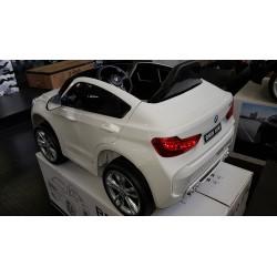 BMW X6M ELEKTRISCHE KINDERAUTO WIT 12V 2.4G