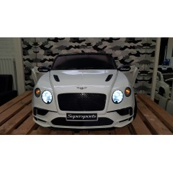 BENTLEY CONTINENTAL ELEKTRISCHE KINDERAUTO 12V 2.4G WIT