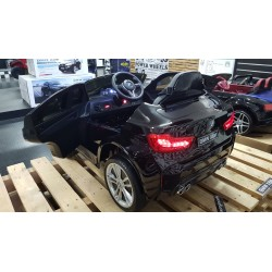 ELEKTRISCHE KINDERAUTO BMW X6M METALLIC ZWART 12V 2.4G