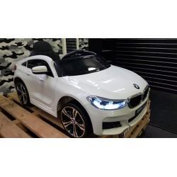 ELEKTRISCHE KINDERAUTO BMW 640i GT Xdrive WIT 12V 2.4G