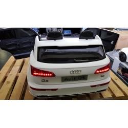 ELEKTRISCHE KINDERAUTO AUDI Q5 2 PERSOONS WIT 2.4G 4WD 12V
