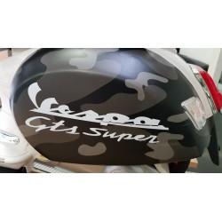 ELEKTRISCHE KINDERSCOOTER CAMO VESPA GTS SUPER 12V