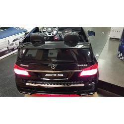 CUSTOM MADE GLS63 AMG ELEKTRISCHE KINDERAUTO RODE LED 12V 2.4G