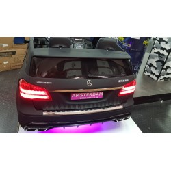 CUSTOM MADE GLS63 AMG ELEKTRISCHE KINDERAUTO LED ROZE 12V 2.4G