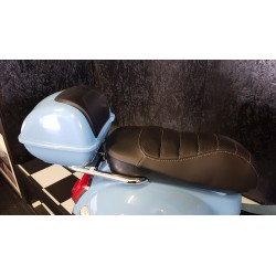 Vespa GTS ELEKTRISCHE kinderscooter blauw 12 volt