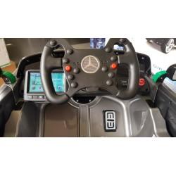 MERCEDES AMG GT4 ELEKTRISCHE KINDERAUTO GRIJS 12V 2.4G