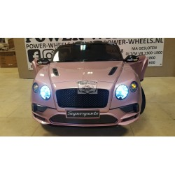 BENTLEY CONTINENTAL ELEKTRISCHE KINDERAUTO 12V 2.4G ROZE