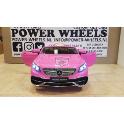 MERCEDES MAYBACH S650 12V 2.4G ROZE KINDERAUTO