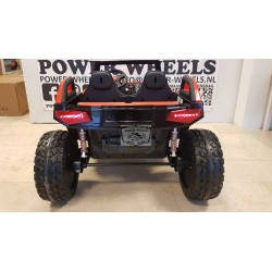 POWER BUGGY 24 VOLT 4 WHEEL DRIVE MET RC  2 PERSOONS