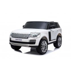 Range Rover HSE 2X12V 2.4G 2 persoons ELEKTRISCHE Kinderauto WIT