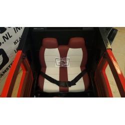 Power Truck elektrische kindervrachtwagen 12v 2.4G met Trailer