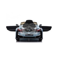 Elektrische kinderauto BMW i8 COUPE12V 2.4G RC 1 persoons BLAUW