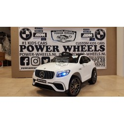 Mercedes GLC63S AMG coupe 2.4G RC bediening 12 volt wit