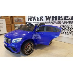 Mercedes GLC63S AMG coupe 2.4G RC bediening 12v blauw