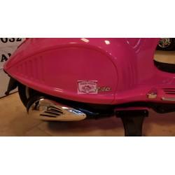 VESPA 946 12V ELEKTRISCHE KINDERSCOOTER roze