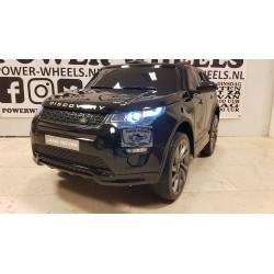 Elektrische kinderauto Land Rover Discovery MP4 12V 2.4G metallic zwart
